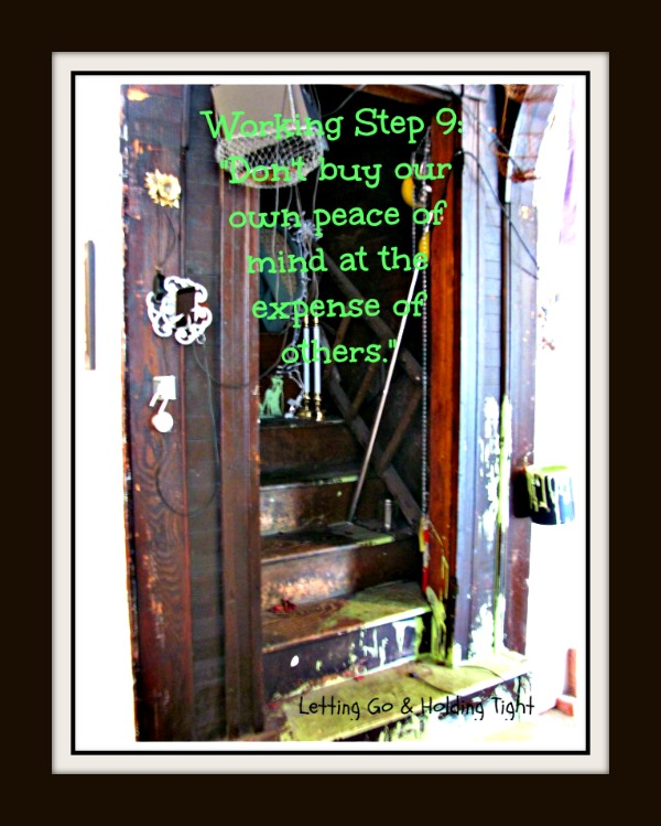 Taking the Ninth Step: Owning What I Cost Others