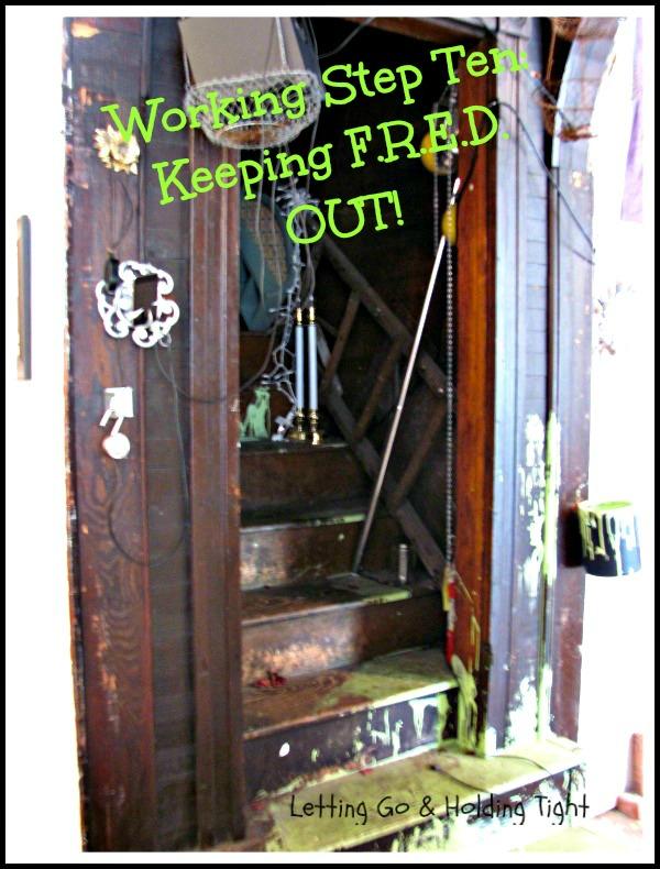 Keeping FRED Away: Working Step Ten